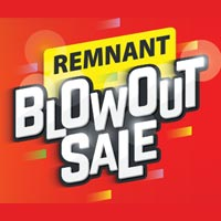Remnant Blowout Sale at West Carpets in Rahway!